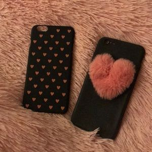 Accessories - TWO IPHONE 6plus CASES